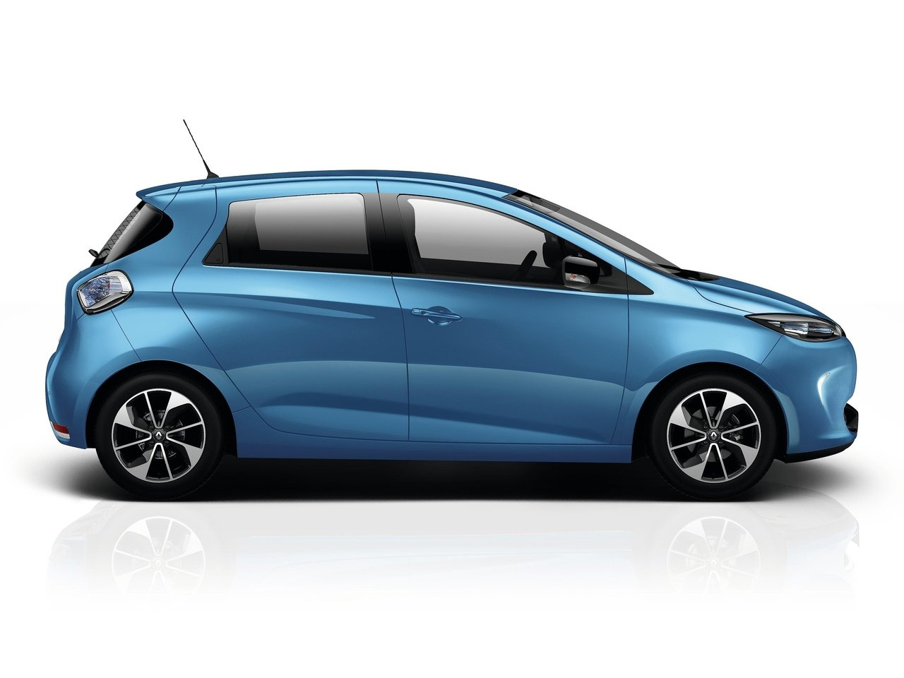 Lateral Renault Zoe