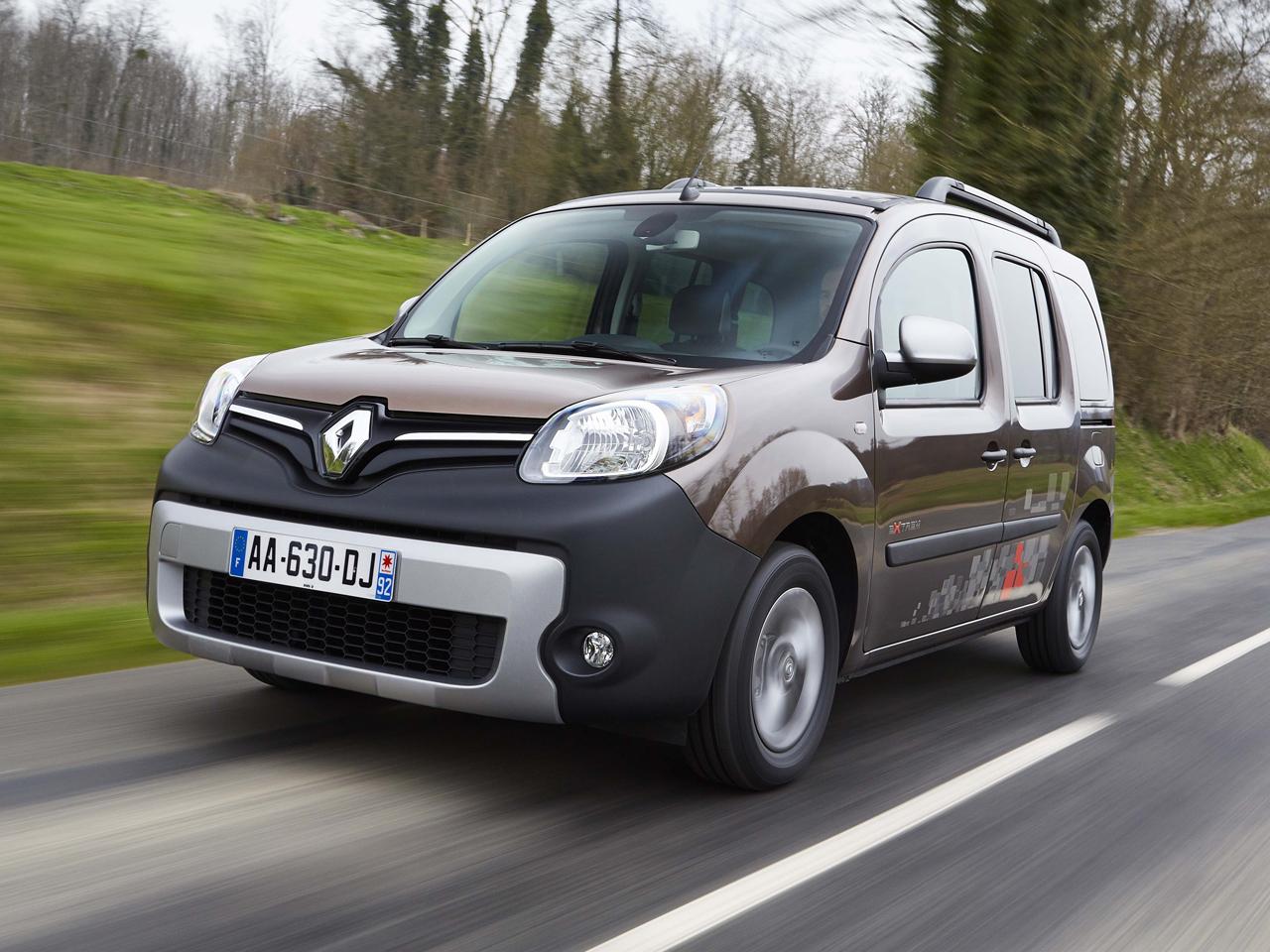 Frontal Renault Kangoo Combi