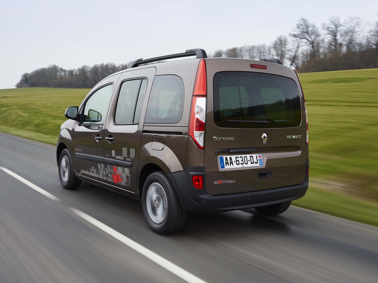 Trasera Renault Kangoo Combi