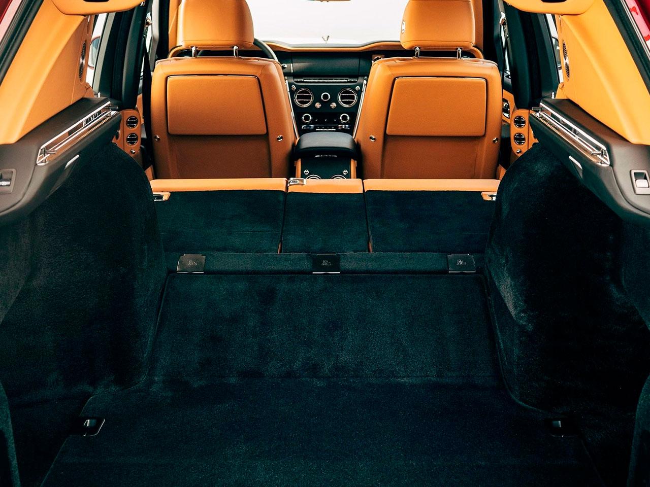 Interior Rolls-Royce Cullinan