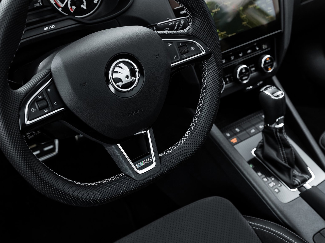 Interior Skoda Octavia RS
