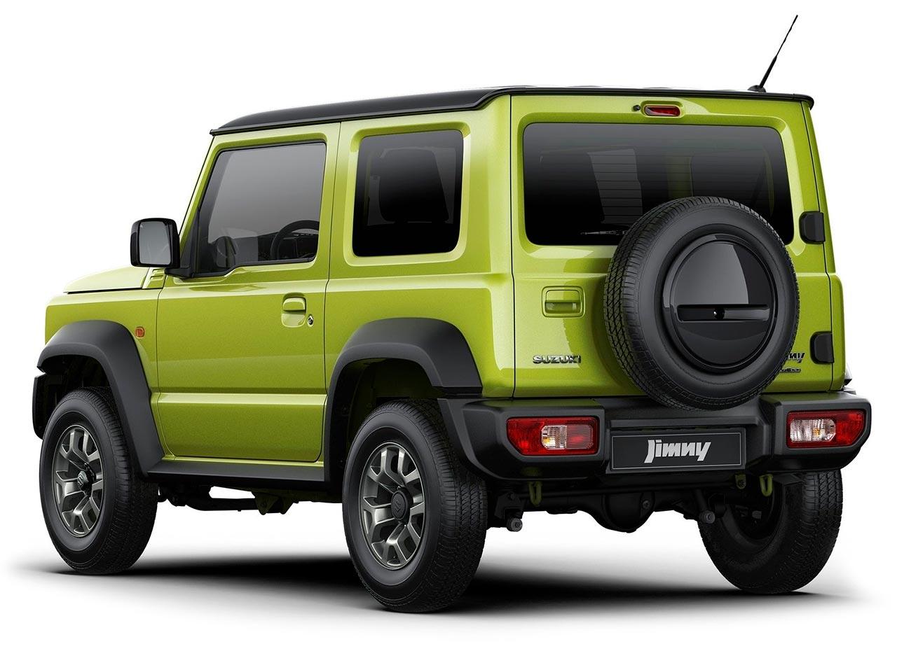 Trasera Suzuki Jimny