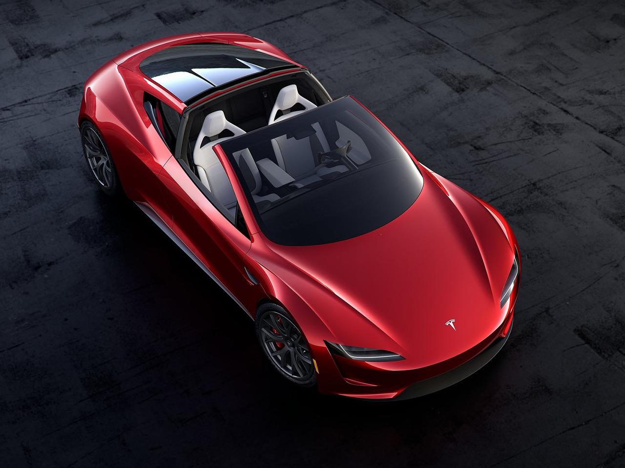 Tesla Roadster exterior