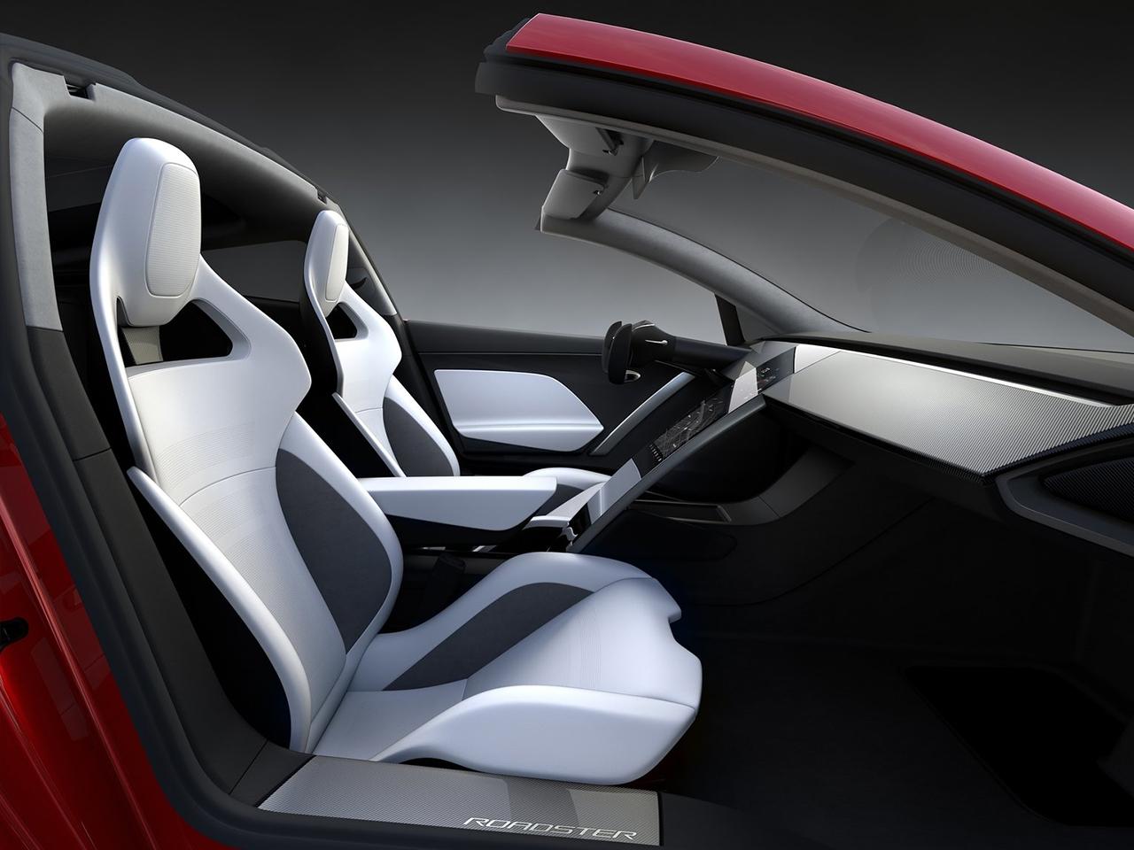Tesla Roadster interior