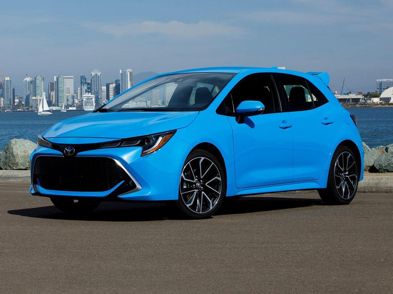 Frontal Toyota Corolla