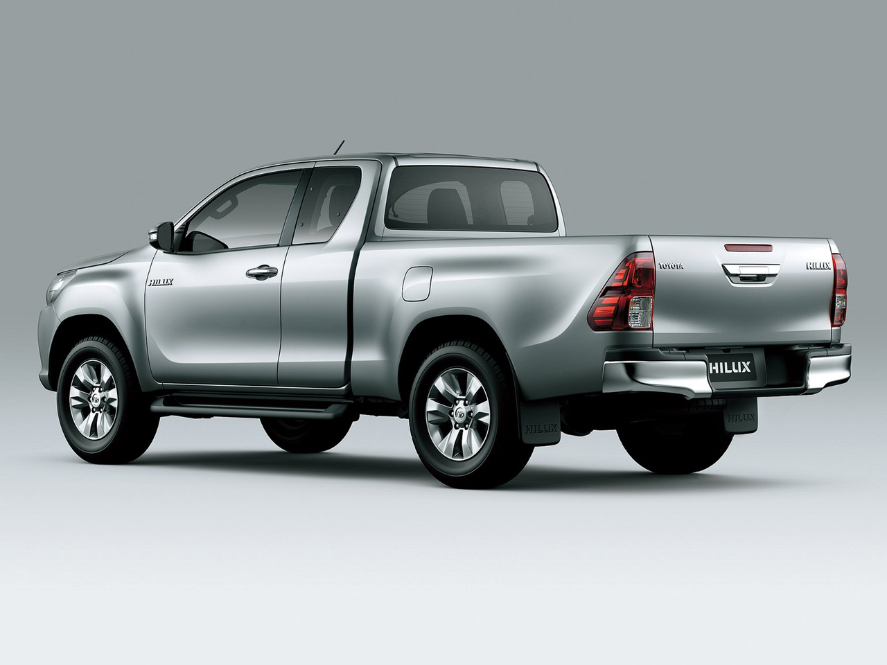 Trasera Toyota Hilux