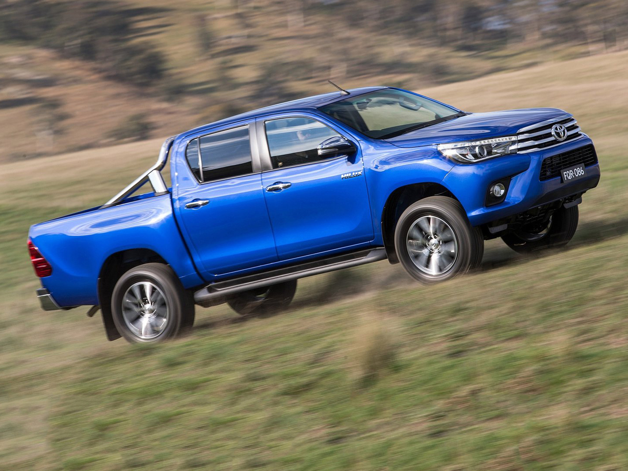 Lateral Toyota Hilux