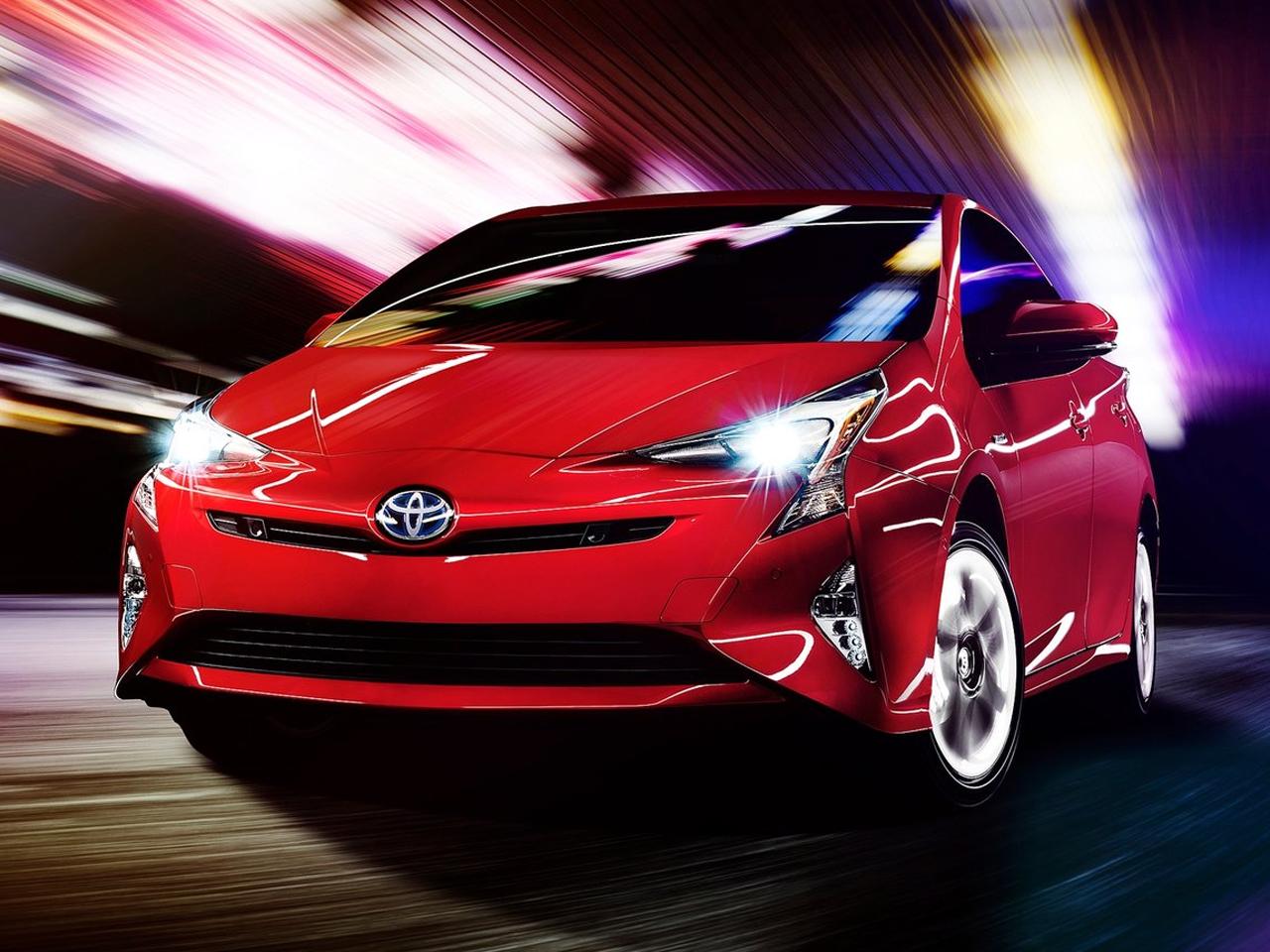 Frontal Toyota Prius