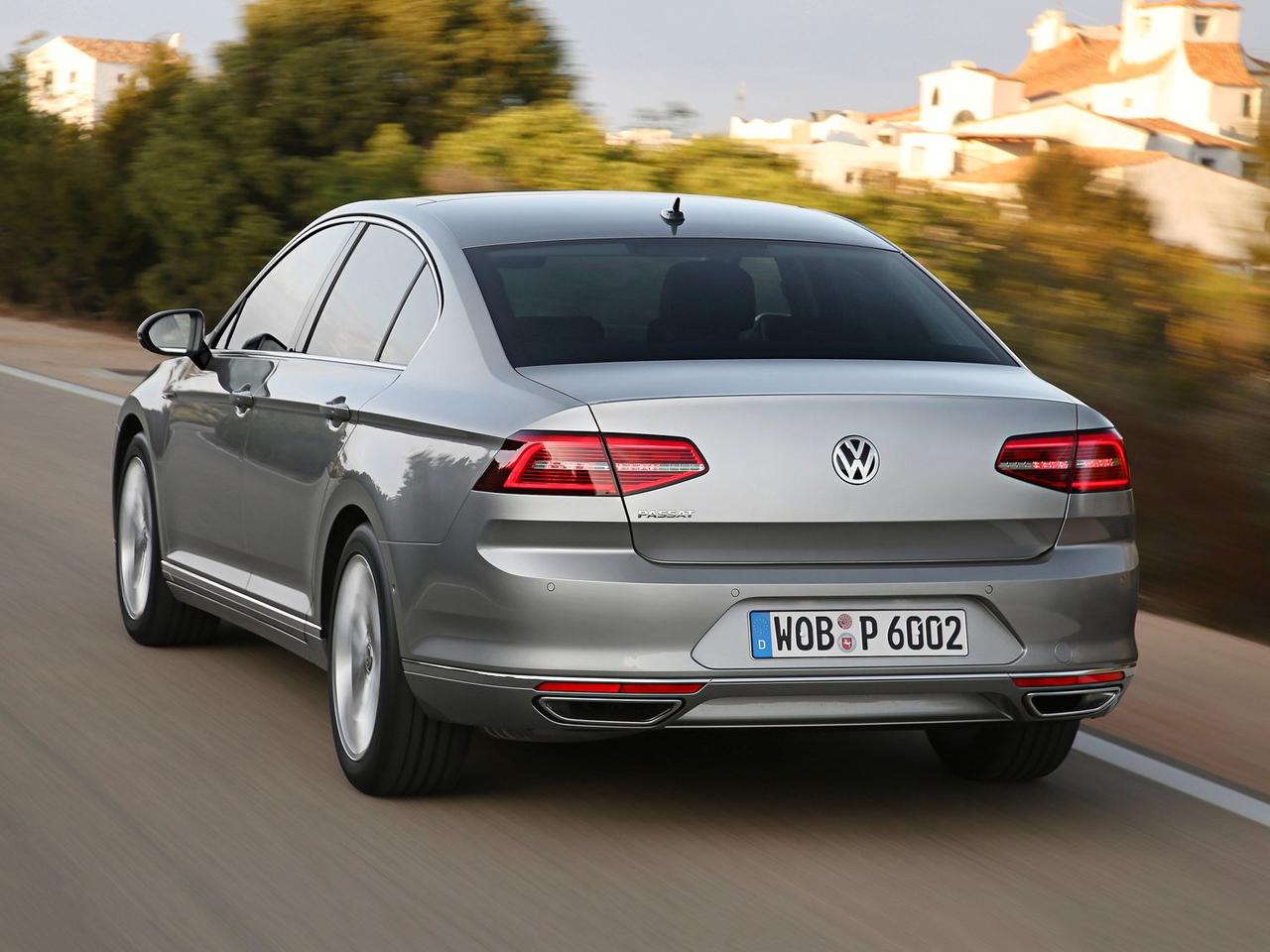 Trasera Volkswagen Passat