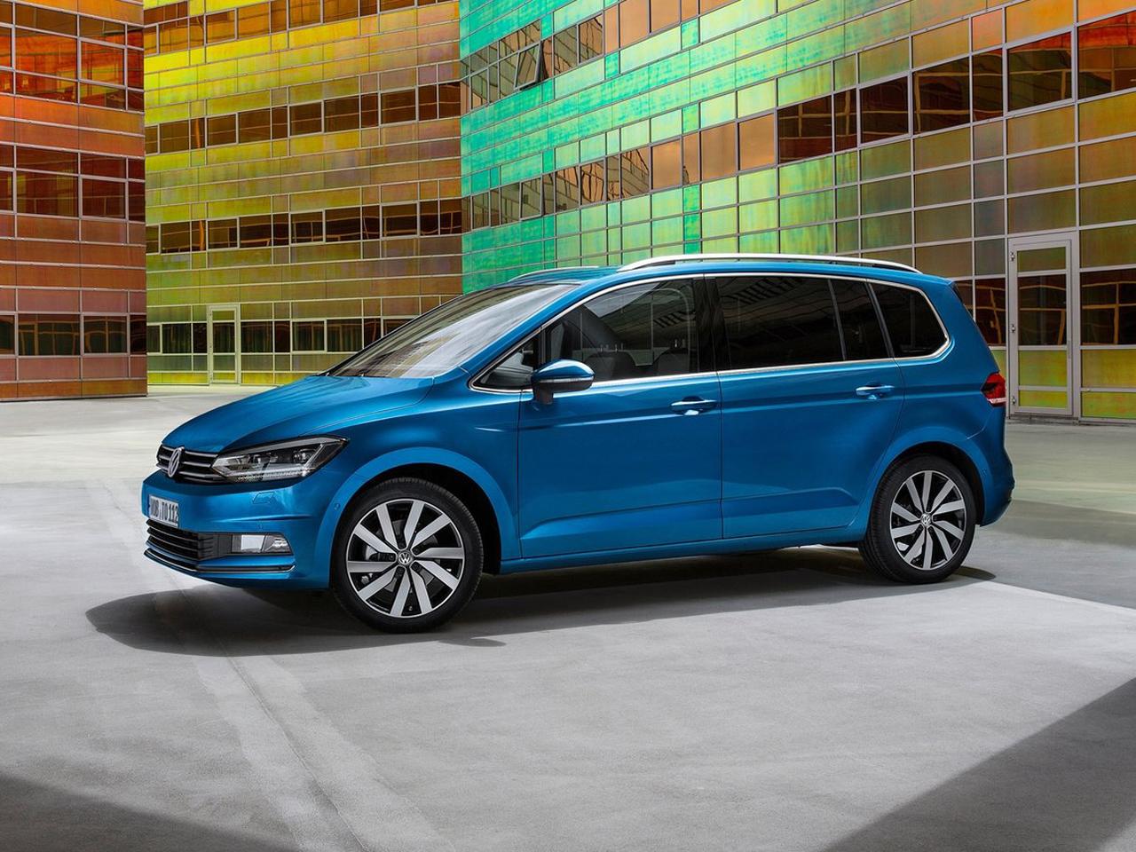 Lateral Volkswagen Touran