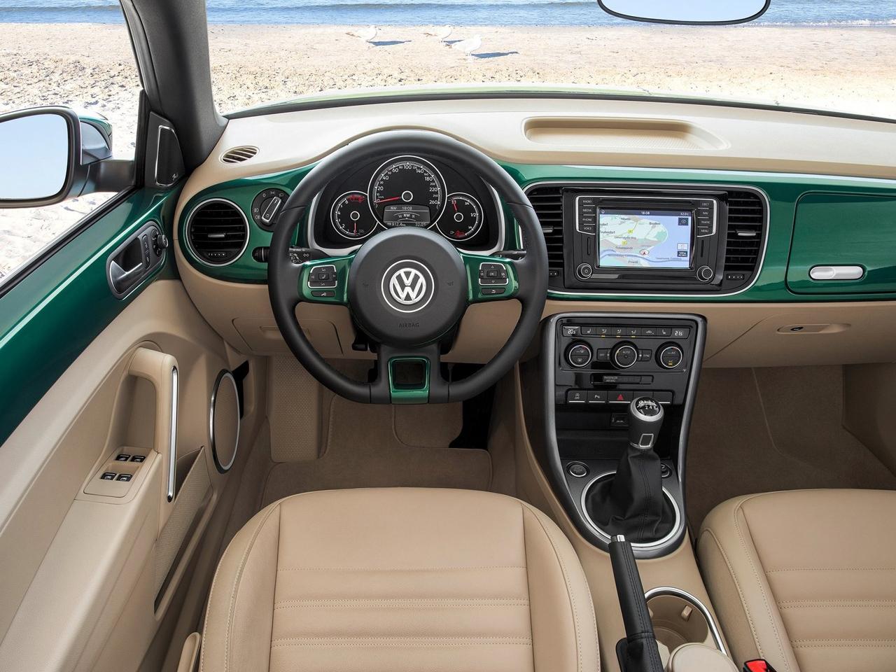 Interior Volkswagen Beetle Cabrio