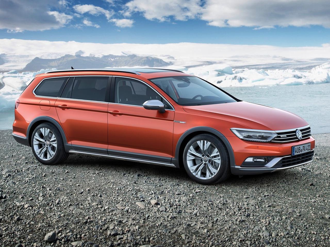 Frontal Volkswagen Passat Alltrack