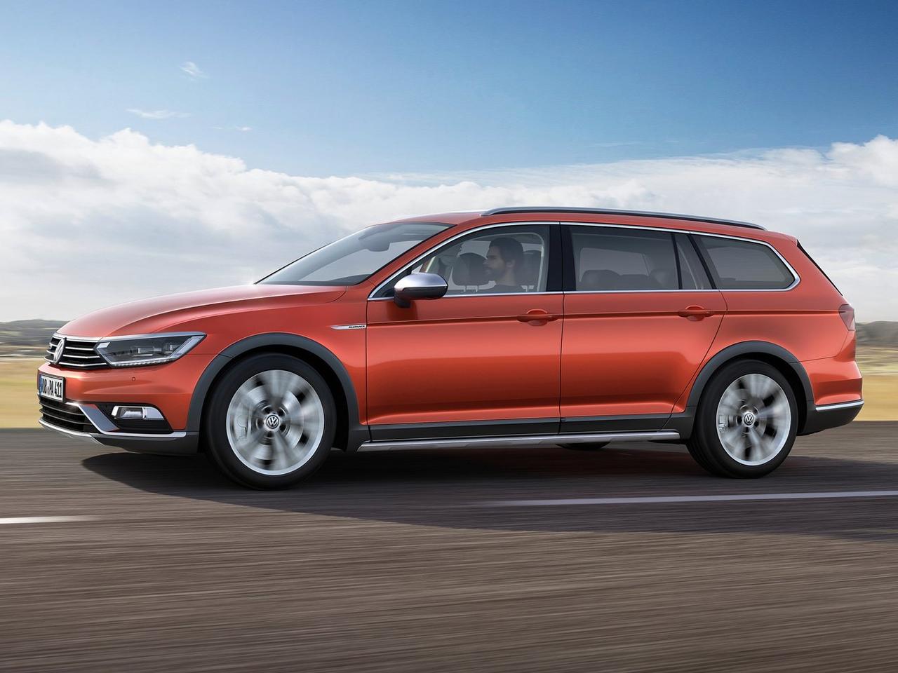 Lateral Volkswagen Passat Alltrack