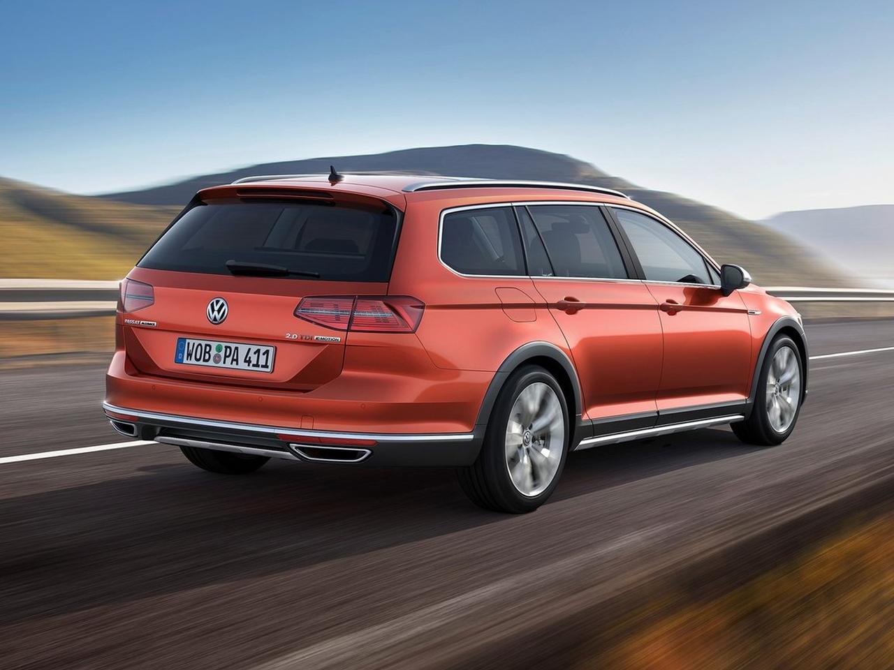 Trasera Volkswagen Passat Alltrack