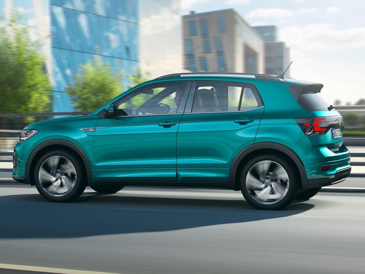 Lateral Volkswagen T-Cross