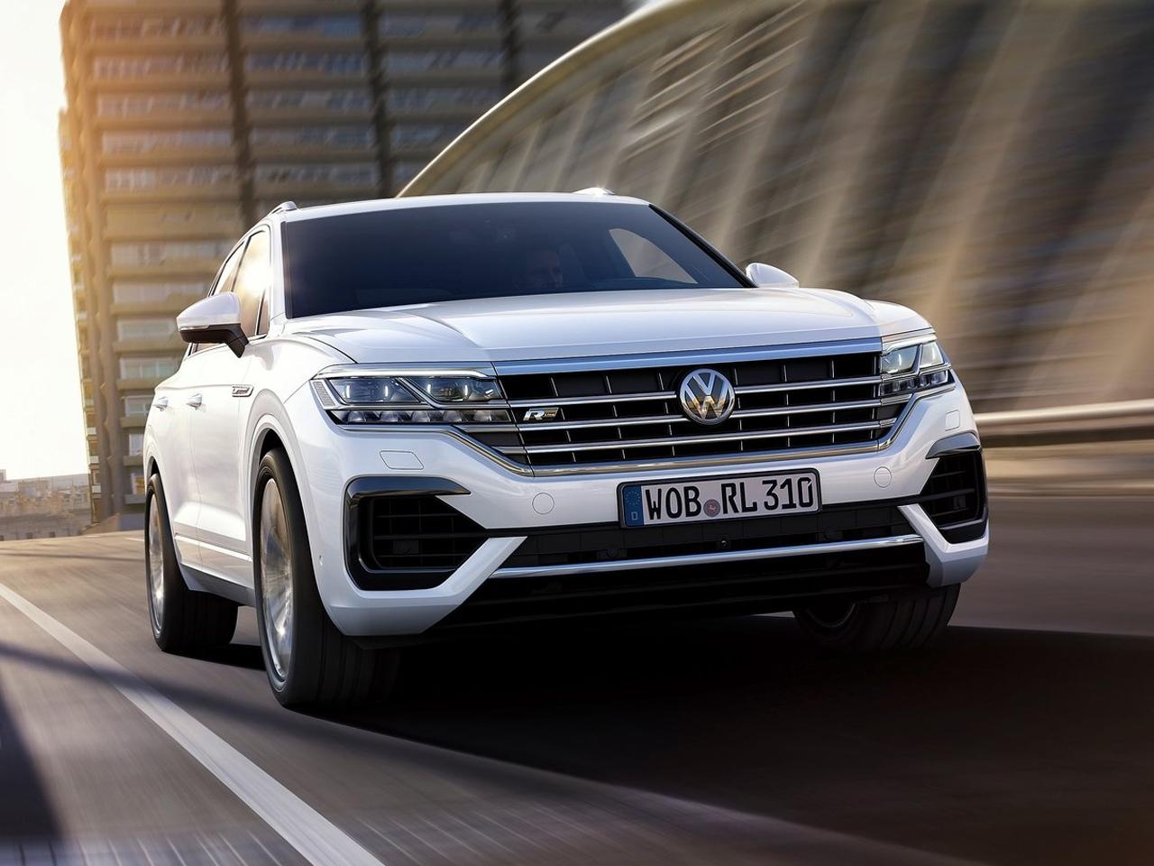 Frontal Volkswagen Touareg