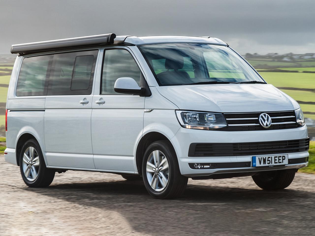 Frontal Volkswagen California