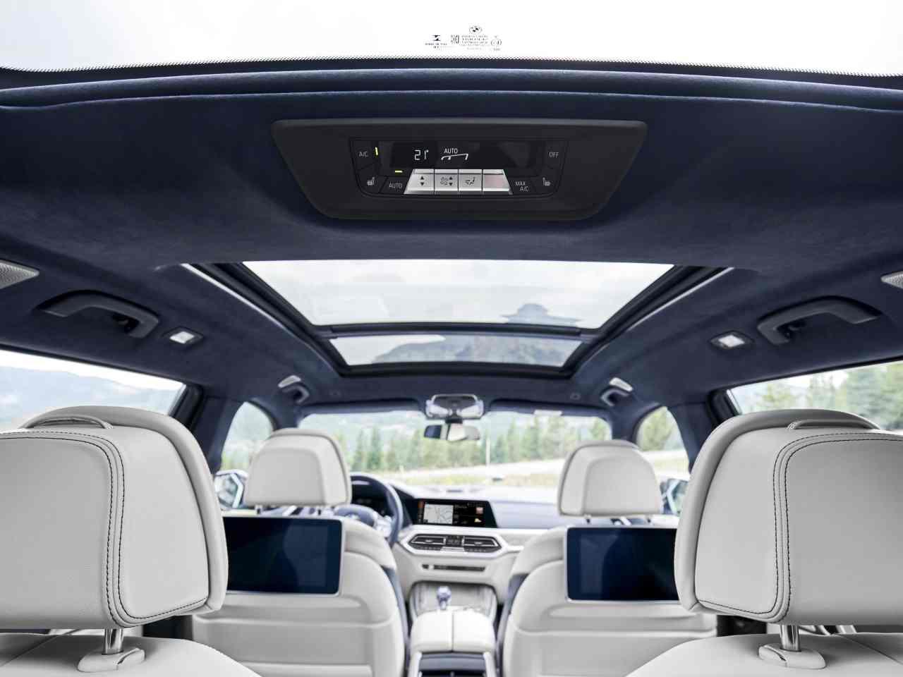 Diseño interior del BMW X7
