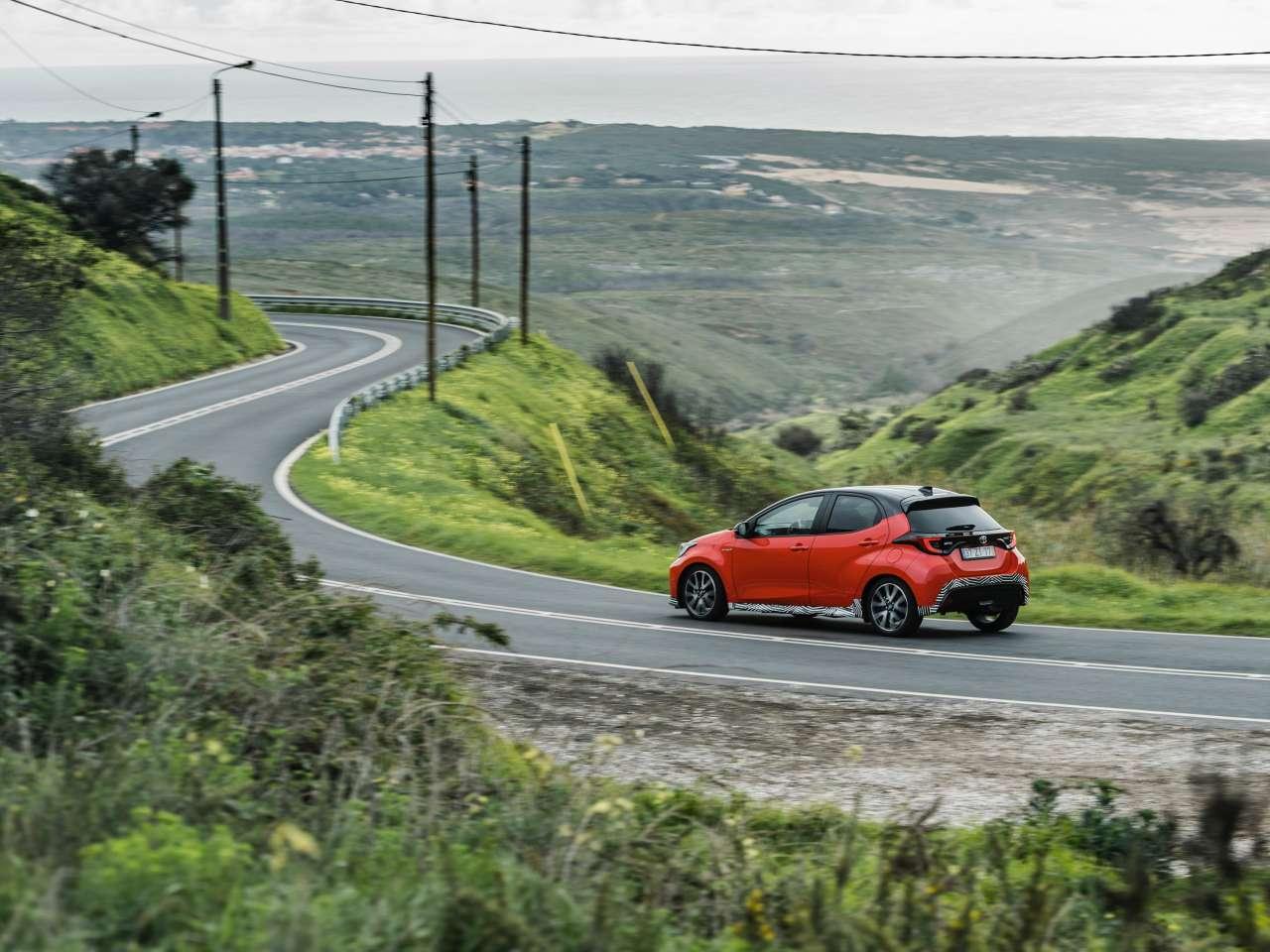 Toyota Yaris 2020 carretera