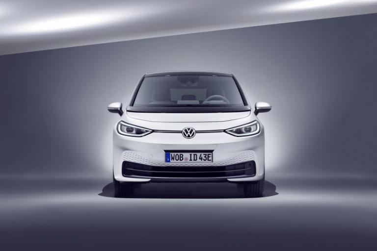 vw id 3 frontal