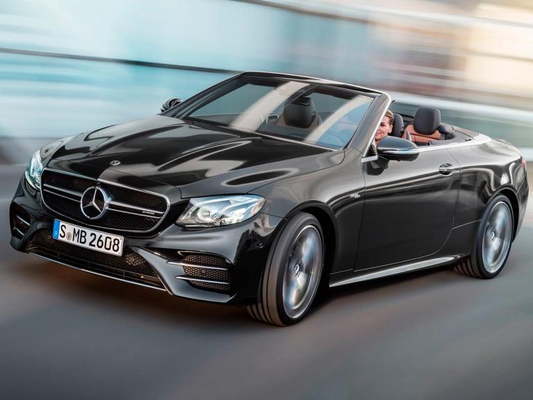 Diseño exterior del Mercedes Clase E Cabrio