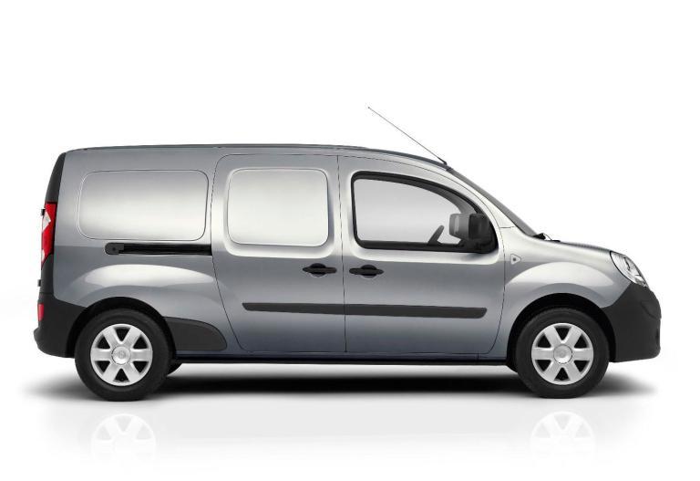 Lateral Renault Kangoo Furgón