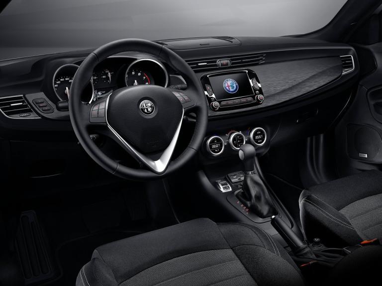 Interior del Alfa Romeo Giulietta