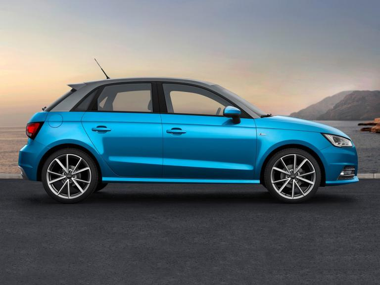 Lateral Audi A1 Sportback