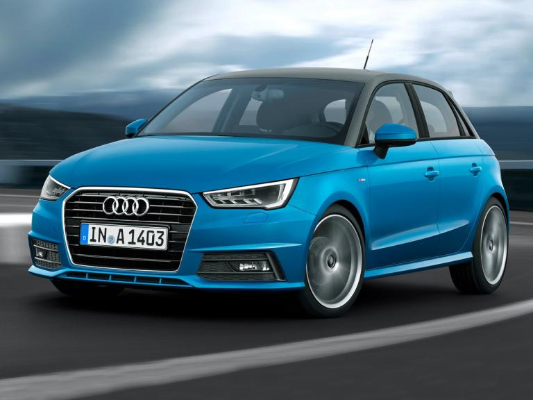 Frontal Audi A1