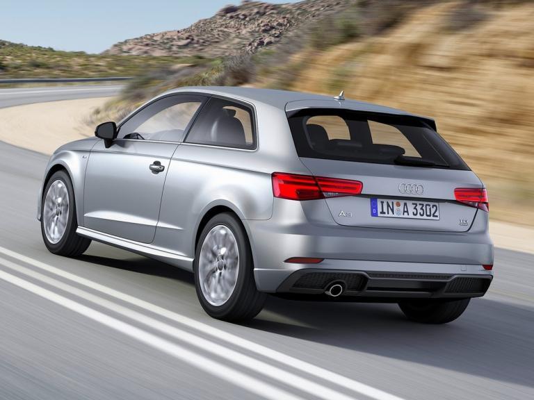 Trasera Audi A3