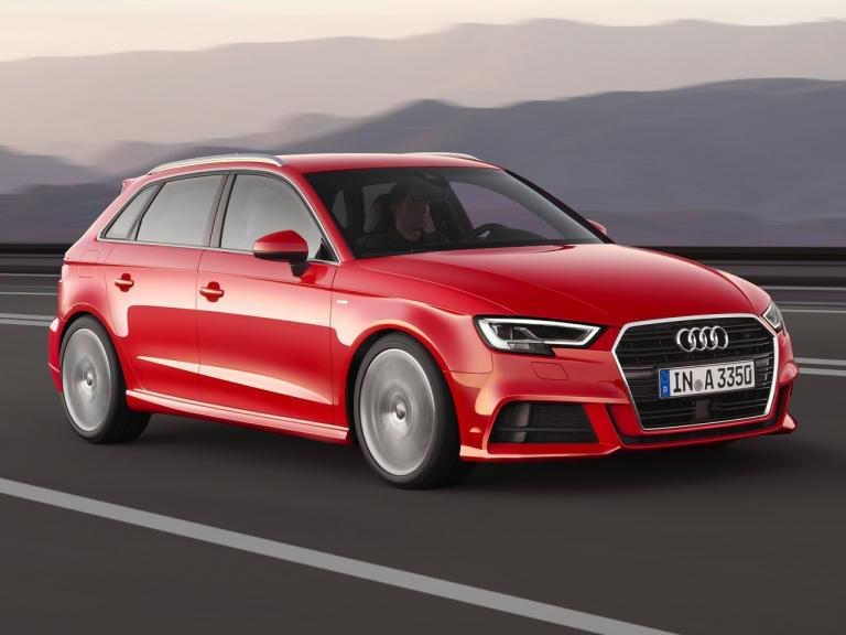 Lateral Audi A3 Sportback