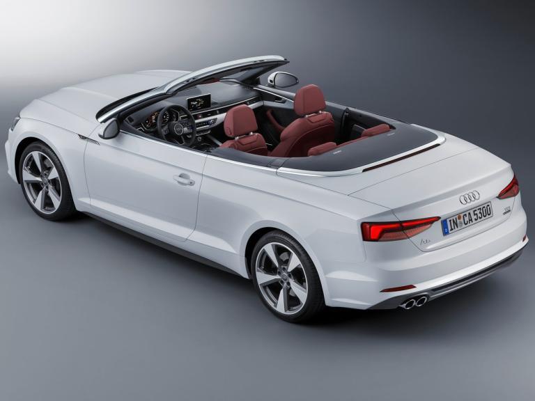 Trasera Audi A5 Cabrio