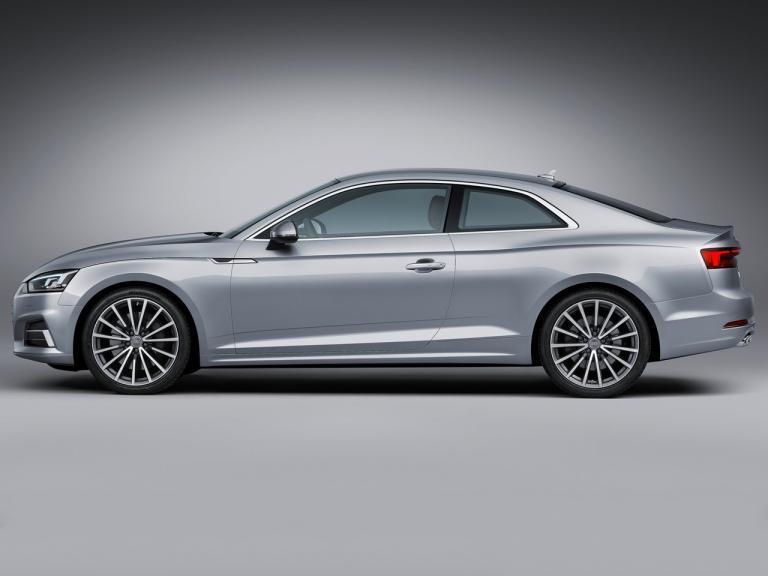 Lateral Audi A5 Coupé