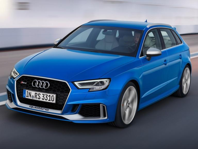Lateral Audi RS3 Sportback