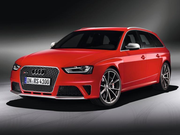 Frontal Audi RS4 Avant