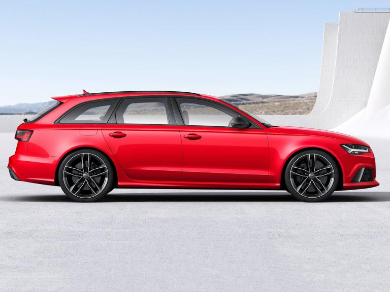 Lateral Audi RS6 Avant