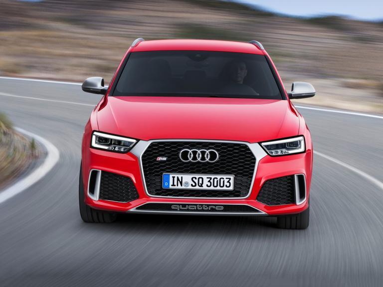 Frontal Audi RS Q3