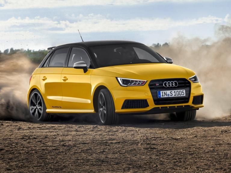 Frontal Audi S1