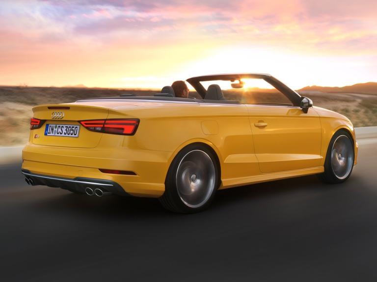 Trasera Audi S3 Cabrio
