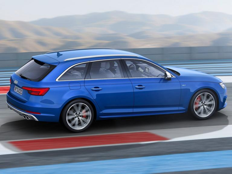 Lateral Audi S4 Avant