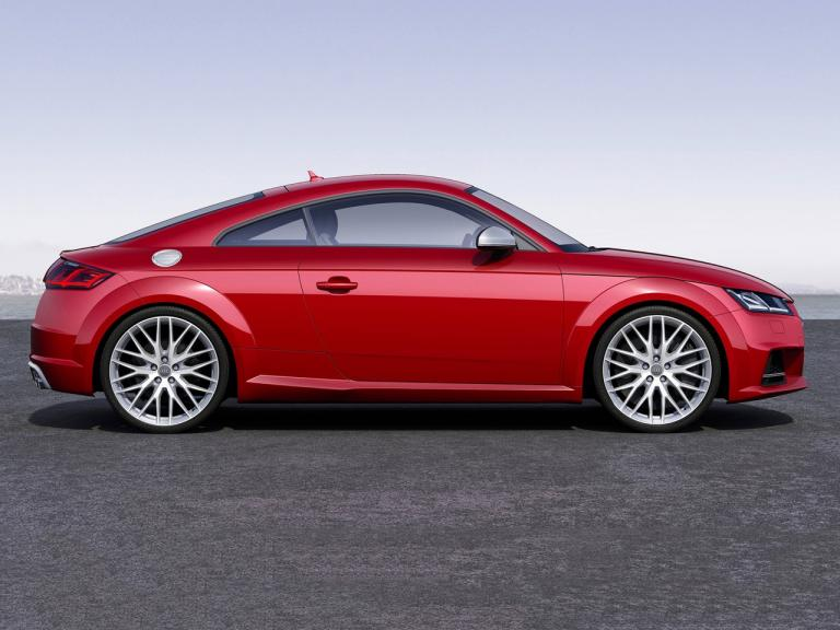 Lateral Audi TT
