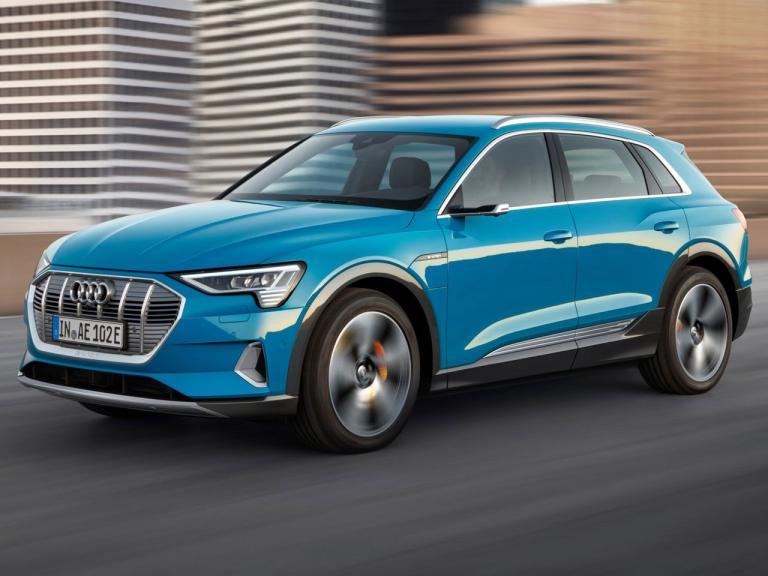 Frontal Audi e-tron