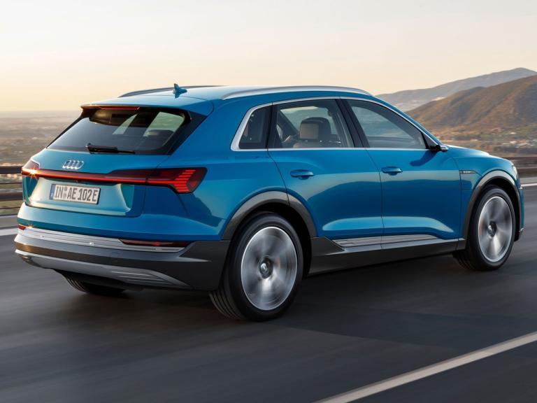Trasera Audi e-tron