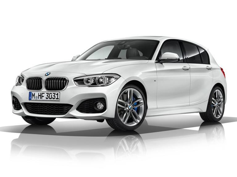 Frontal BMW Serie 1 Hatchback
