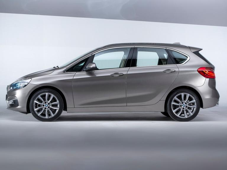 Lateral BMW Serie 2 Active Tourer