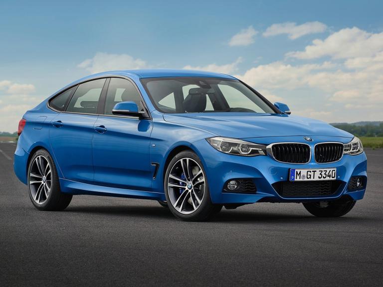 Frontal BMW Serie 3 Gran Turismo