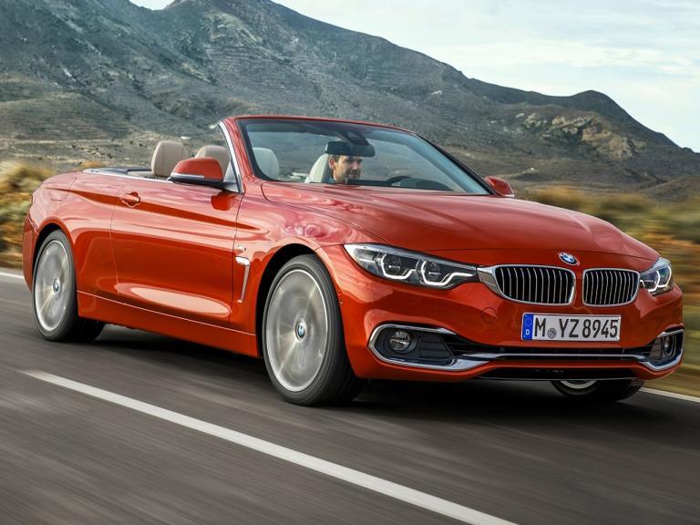 Frontal BMW Serie 4 Cabrio