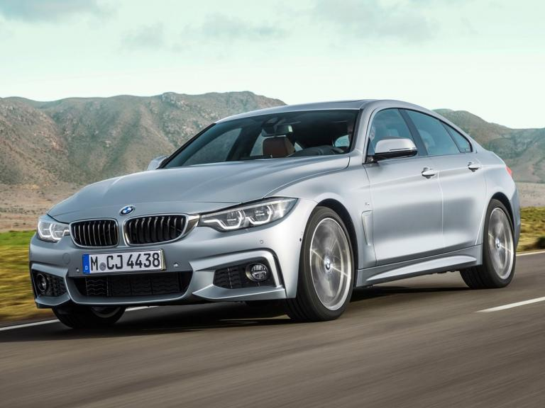 Frontal BMW Serie 4 Gran Coupe