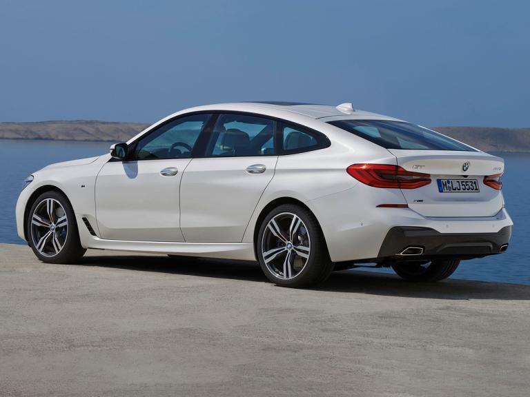 Lateral BMW Serie 6 Gran Turismo