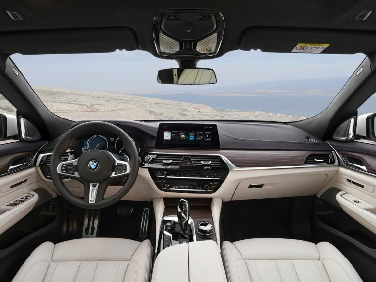 Interior BMW Serie 6 Gran Turismo